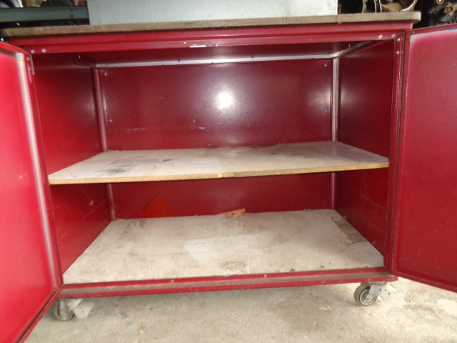 werkbank werktisch tisch auf rollen schrank werkstattm bel werktisch werkstatt ebay. Black Bedroom Furniture Sets. Home Design Ideas